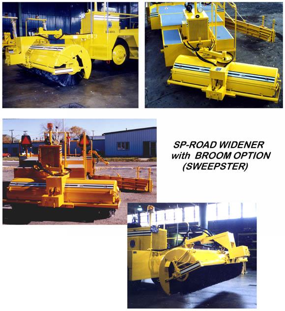 Midland Machinery :: Optional Widener Equipment